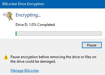Encrypt USB Drive